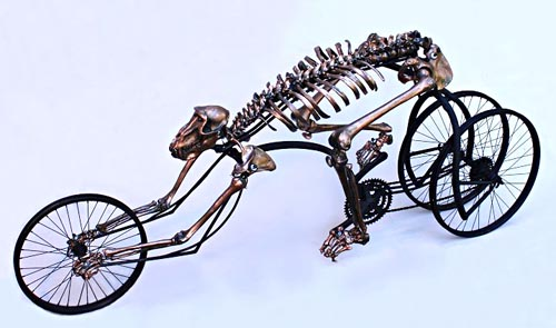 R-Evolve skeleton bicycle for Ghost Rider