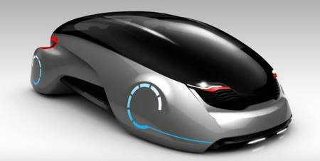Scarab E Concept Vehicle Just Like A Beetle Gadgetsin