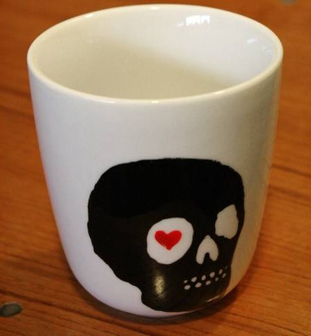 Love Skull Cup Set for Valentines Day