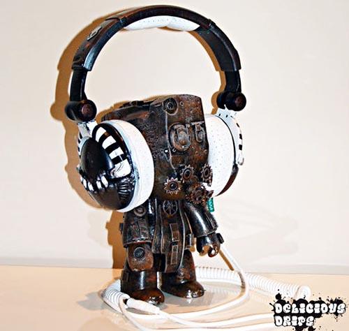 Steampunk Skullcandy SK-Pro Custom Headphones