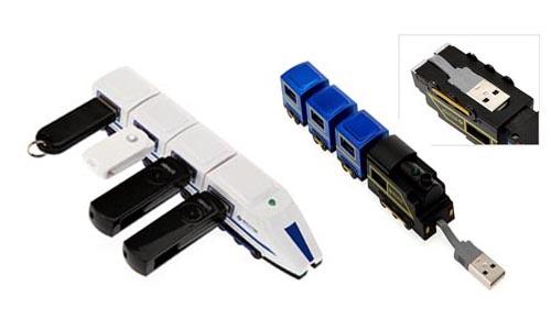 Train 4-ports USB hub