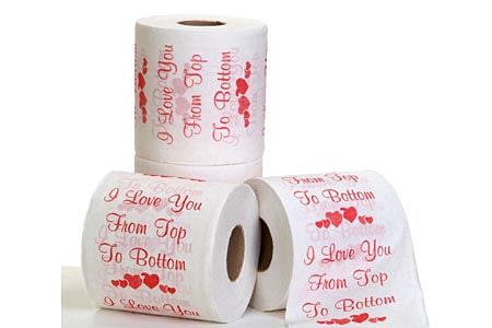 Amazing roll paper for Valentines Day