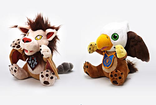Blizzard World of Warcraft plush pets