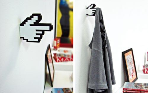 8-bit hanger pixel art gadget