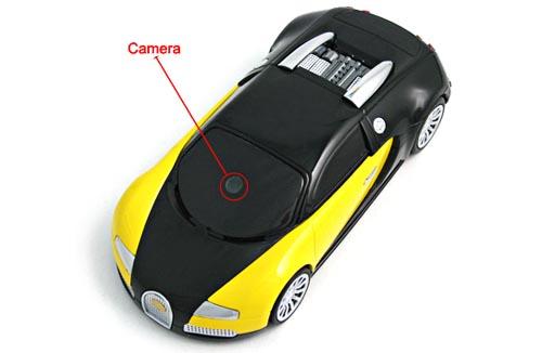 Bugatty Cell Phone Shaped as Bugatti Veyron