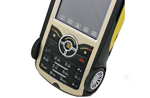 Bugatty Cell Phone Shaped As Bugatti Veyron Gadgetsin