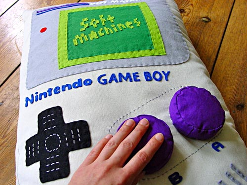 Nintendo Game Boy Pillow