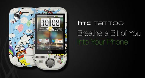 Garskin_customized_HTC Tattoo cover