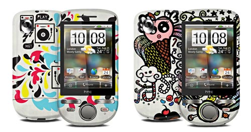 Make Your Own HTC Tattoo Cover via Garskin