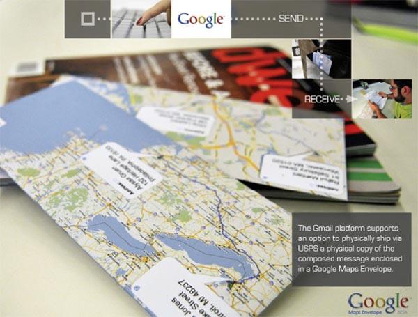Google Map Envelopes