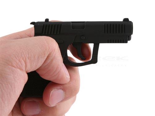 gun-shaped USB flash drive