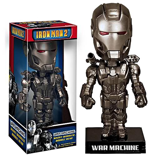 Iron Man 2 War Machine Bobble Heads