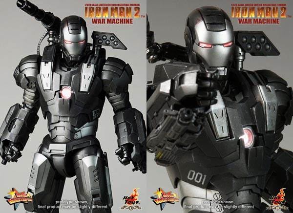 iron man 2 war machine action figure gadgetsin