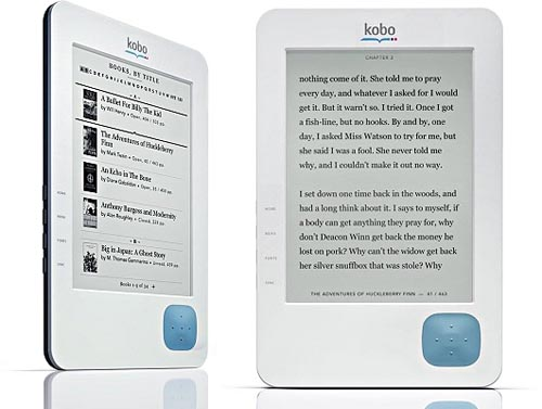 Preorder Kobo eReader from Borders