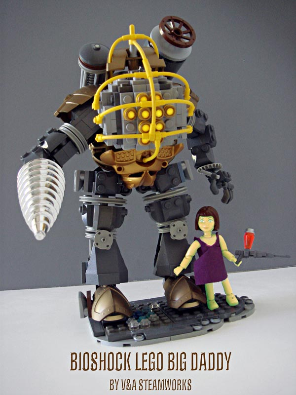Bioshock LEGO Big Daddy by V&A