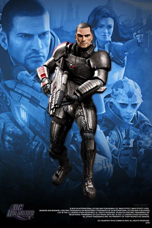 Mass Effect 2 action figures