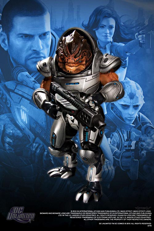 Mass Effect 2 action figures