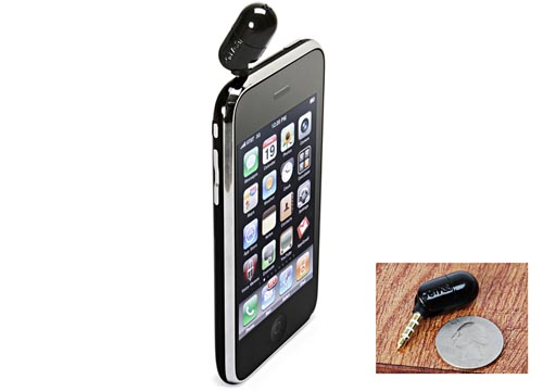 Mini microphone for iPhone