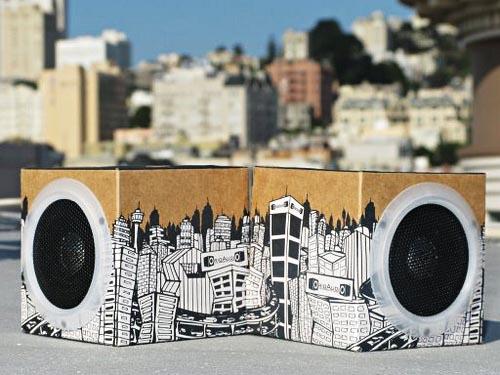 OrigAudio Fold n'Play Recycled Speakers