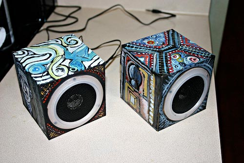OrigAudio Fold n'Play Recycled Speakers