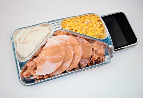 Retro TV Dinner Gadget Case not only for iPhone