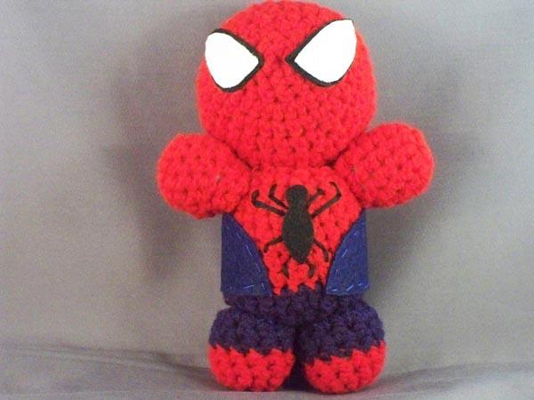 Amigurumi Spiderman Patron : Amigurumi hombre arana patron - Imagui
