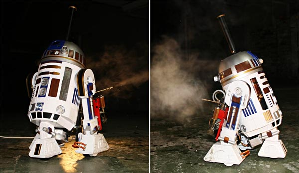 Star Wars R2-D2 emerges in our world | Gadgetsin