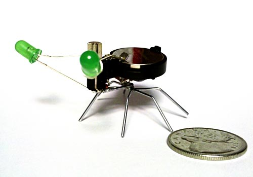 Not Decepticon Insect Transformers but Insect-like Robots