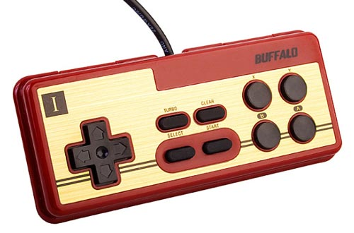 Retro USB Nintendo PC Gamepad