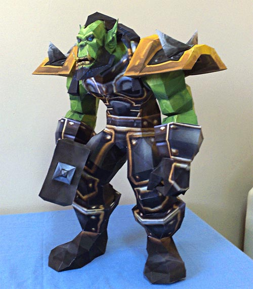 World of Warcraft Paper Figures