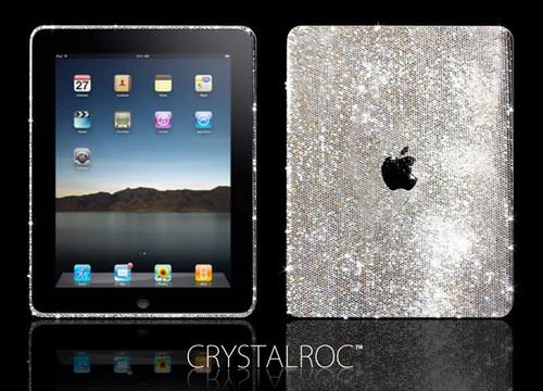 Customized Swarovski Crystals Apple iPad by CrystalRoc