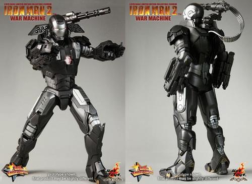 Iron Man 2 War Machine Action Figure