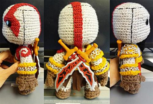 God of War Kratos Sackboy