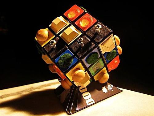 Rubik's Cube for the Blind