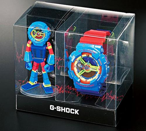 Casio G-Shock Watch and Figure by Nakano Shirou