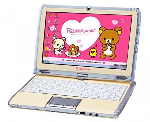 Cute Bandai Namco Rilakkuma Netbook