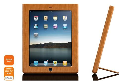 Vers Audio Wood iPad Case