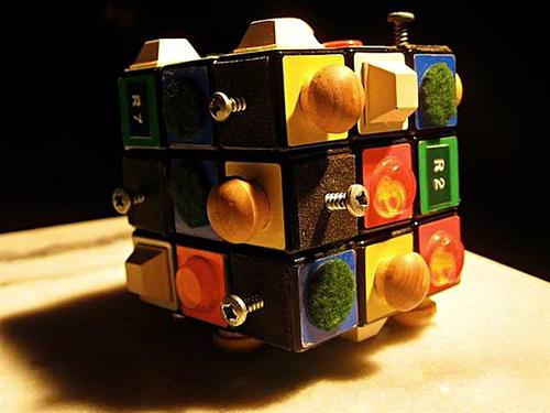 Two Rubik's Cubes for the Blind