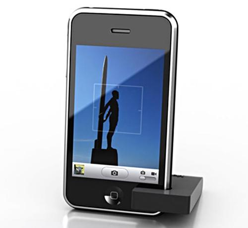 MoviePeg iPhone Stand for Simplicity Lovers