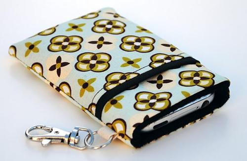 Colorful Handmade iPad Sleeve by Wallaby
