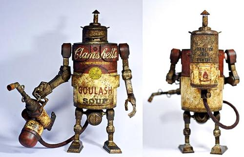 Steampunk Campbells Soup Bramble Vinyl Figure by 3A Toys