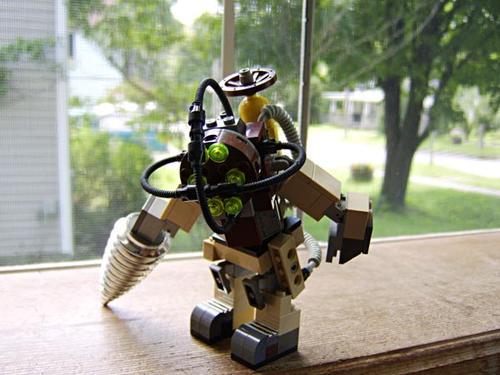 LEGO Big Daddy from Bioshock