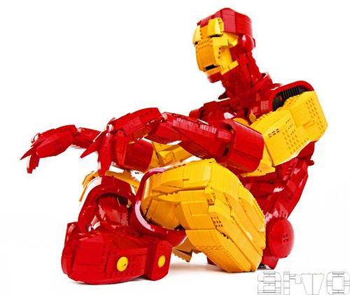 LEGO Iron Man Figure