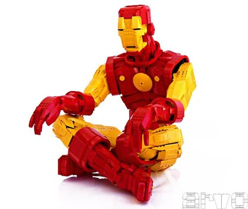 LEGO Iron Man Figure