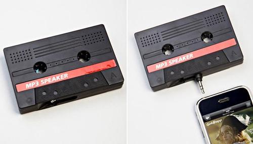 Retro Funkyfonic Cassette External Speaker