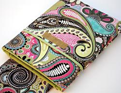 Colorful Handmade iPad Sleeve by Wallaby