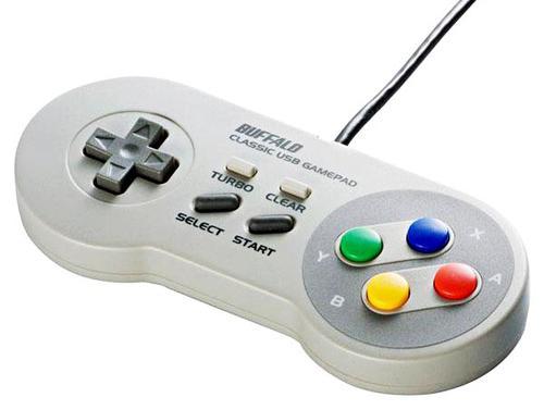Retro USB Nintendo Super NES PC Game Pad