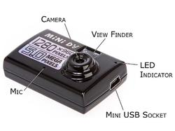 Thumb Size Digital Mini Camera