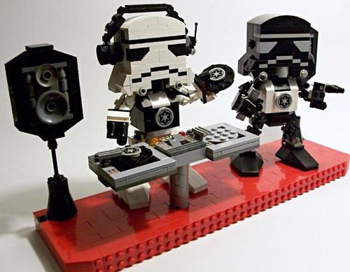 LEGO DJ Stormtrooper