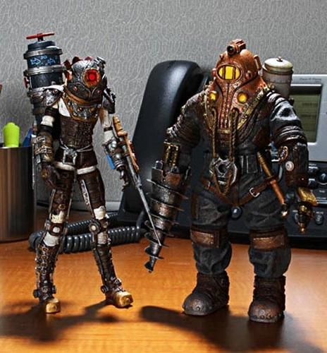 Two latest Bioshock 2 action figures